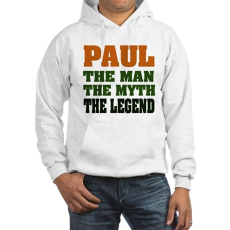 PAUL - The Legend Hooded Sweatshirt