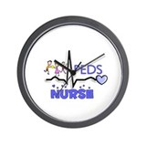 Registered Nurse Specialties Wall Clock
