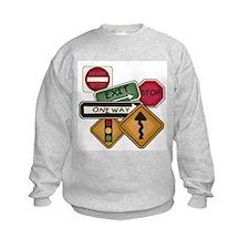 Road Signs Sweatshirt