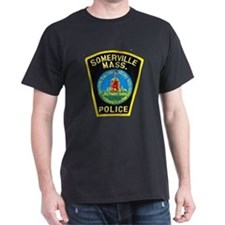 Somerville Mass Police T-Shirt