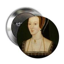 "Cute Anne boleyn 2.25"" Button (10 pack)"
