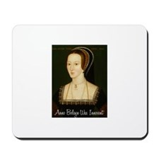 Cute Anne boleyn Mousepad