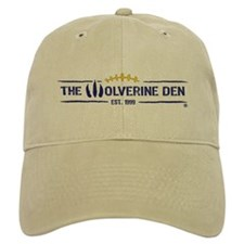 The Wolverine Den Hat Khaki/White
