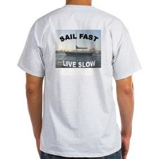 Sailing Ash Grey T-Shirt