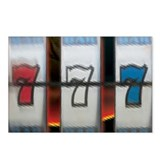 Lucky 777 Red White Blue (pkg of 8)