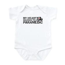 My Heart Belongs To A Paramedic Onesie