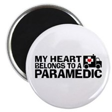 My Heart Belongs To A Paramedic Magnet