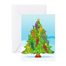 Trumpet Christmas Greeting Cards (Pk of 20)