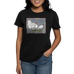 White Holland Turkeys Women's Dark T-Shirt