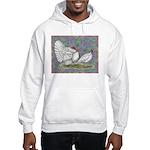 White Holland Turkeys Hooded Sweatshirt