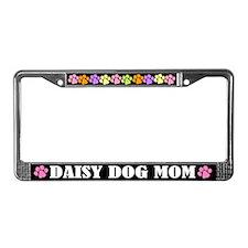 Daisy Dog Mom License Frame