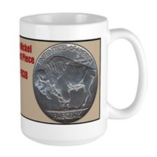 Cute Buffalo nickel Mug
