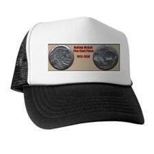 Cute Buffalo nickel Trucker Hat