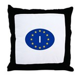 EU Italy Throw Pillow