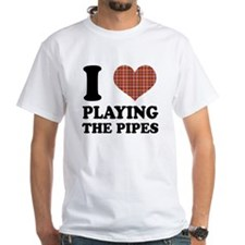 I Heart Playing The Pipes Shirt