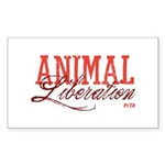 Animal Liberation Sticker (Rectangle)