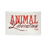 Animal Liberation Rectangle Magnet