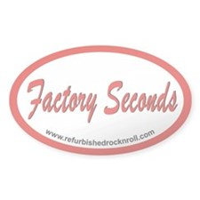 Factory Seconds Euro Oval Decal