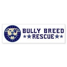 Bully Breed Rescue Bumper Sticker