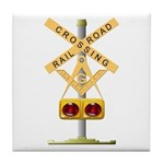 Railroad Brother Tile Coaster