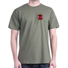188th Security Police Black T-Shirt