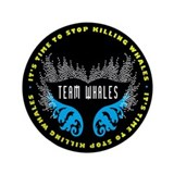 "Team Whales 3.5"" Button"