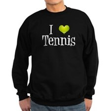 I Heart Tennis Sweatshirt
