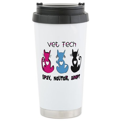 Vet Technician Ceramic Travel Mug