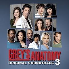 Grey's Anatomy Soundtrack - Vol 3
