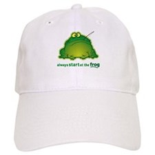 Funny Orchestra Strings Frog Cap