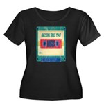 WWJD? Women's Plus Size V-Neck T-Shirt