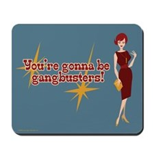 Mad Men Gangbusters Mousepad