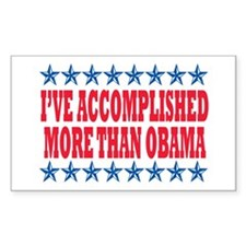 Not Obama 2012 Rectangle Sticker 50 pk)