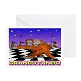 """ORANGUTANGO"" Greeting Card"