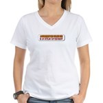 A Government That Outlaws Gun Women's V-Neck T-Shi