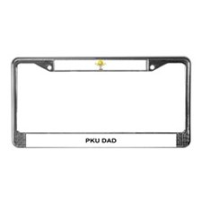 PKU DAD License Plate Frame