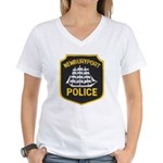 Newburyport Police Women's V-Neck T-Shirt