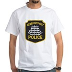 Newburyport Police White T-Shirt