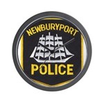Newburyport Police Wall Clock