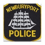 Newburyport Police Tile Coaster