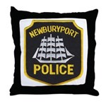 Newburyport Police Throw Pillow