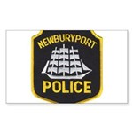 Newburyport Police Sticker (Rectangle 50 pk)