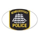 Newburyport Police Sticker (Oval)