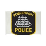 Newburyport Police Rectangle Magnet (100 pack)