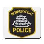 Newburyport Police Mousepad
