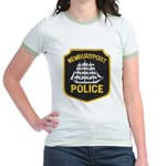 Newburyport Police Jr. Ringer T-Shirt