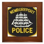 Newburyport Police Framed Tile