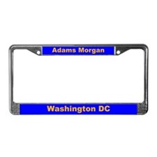 Adams Morgan License Plate Frame