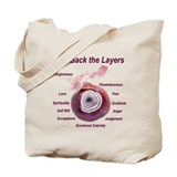 Peel back the layers Tote Bag