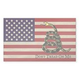 American Flag Bumper Stickers